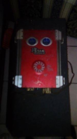 AMP WITH BOX