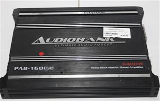 Audio bank 6000w car amplifier S037134A #Rosettenvillepawnshop