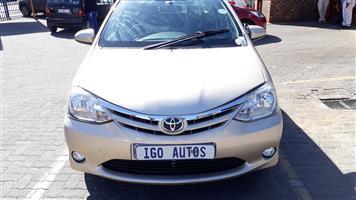 2015 Toyota Etios sedan ETIOS 1.5 Xs/SPRINT