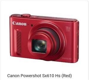 Canon powershot sx610 Camera