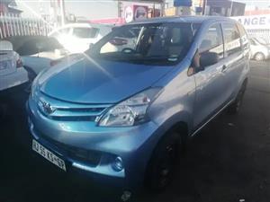 2015 Toyota Avanza AVANZA 1.3 SX