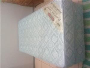 Single base and mattress for sale