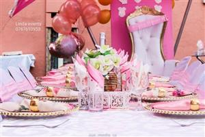 catering,wedding decor,baby shower,parties,stretch tent,couches,pallet,cushions and equipment rental