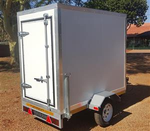 insulated mobile refrigerated trailer for sale