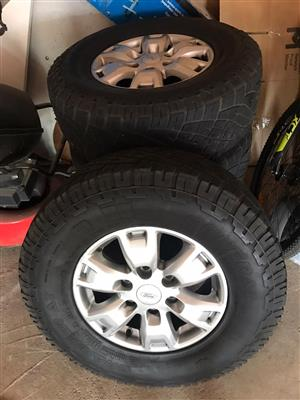 Ford Ranger Mags With Tyres