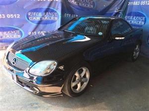 2000 Mercedes Benz SLK 350