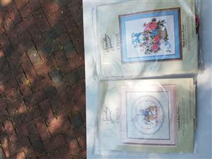 Cross stitch and needle point