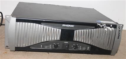 Phonic power amp S033826A #Rosettenvillepawnshop