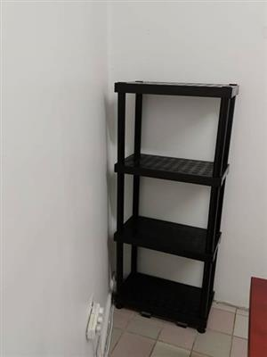 4 Tier black filing shelf for sale