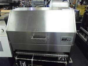 Red Pro Stainless Steel Gas Rotisserie