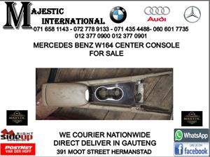 Mercedes benz W164 center console for sale