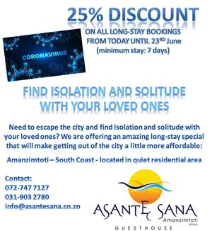 FIND ISOLATION AND SOLITUDE WITH YOUR LOVED ONES