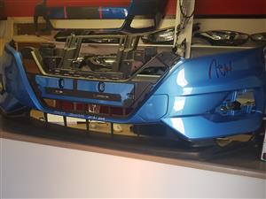 2018 Nissan QASHQAI Clean Genuine Front Bumper . Bumper alone J11 and Grills Also Available