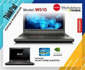 Lenovo ThinkPad W Series | W510 Core i7 NVIDIA Quadro FX 880M graphics.
