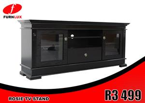 TV STAND BRAND NEW ROSIE FOR ONLY R 3 499 !!!!!!!!!!!!!!