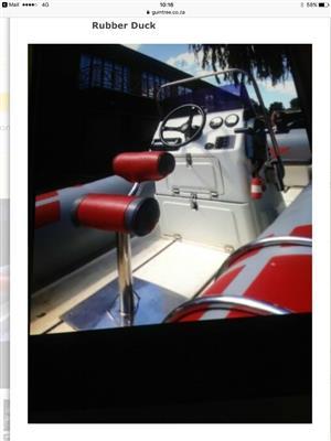 sea going boat prestige rubber duck for sale  Alberton