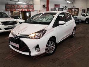 2015 Toyota Yaris 5 door 1.3 XS auto
