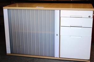 Office Credenza 1200mmx600mm with 4 Drawers