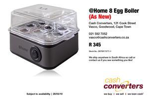 @Home 8 Egg Boiler (As New)