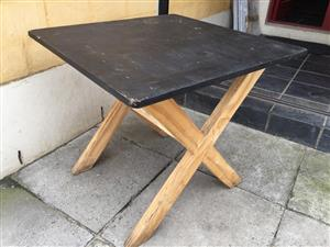 Plywood  Patio Multipurpose table - also bench/bunkie available - see prices below