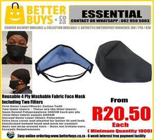Reusable Fabric Wash