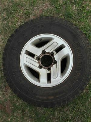 Continental Tire with Mag for sale
