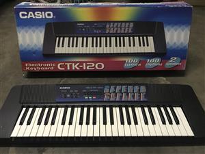 Casio electronic keyboard CTK 120