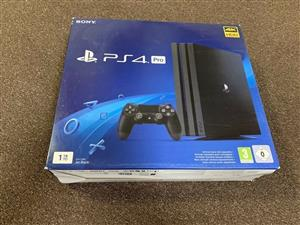 Sony PS4 pro sealed 1tb 1 year warranty