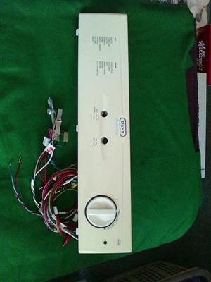 DEFY AUTO DRY tumble drier Control panel.