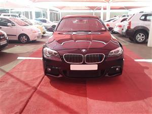 2013 BMW 5 Series sedan 520d M SPORT A/T (G30)