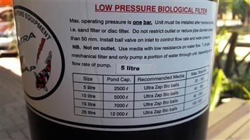 Ultra ZAP Koi Pond Filter and Pump