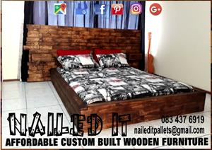Custom Built Pallet Wood Furniture - Custom built to any requirements