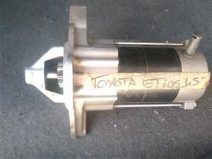 Toyota etios starter 1.5