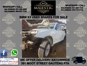 Bmw X series used spares for sale