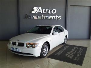 2004 BMW 7 Series 740i