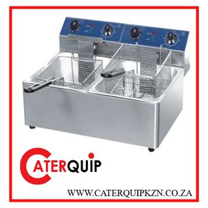 BRAND NEW DOUBLE ELECTRIC FRYER