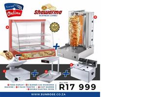 SHAWARMA COMBO DEALS FOR SALE - FLAME GRILLERS FOR SALE - KITCHEN EQUIPMENT FOR SALE