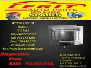 SUZUKI KIZAHSI  RADIO FOR SALE