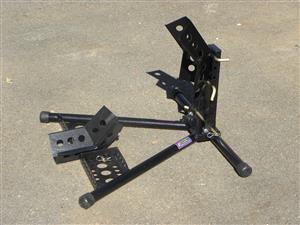 Bike Garage Wheel Chock/Clamp
