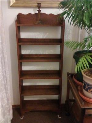Bargain of the Year - Mahogany 6 Shelf Bookcase!!!