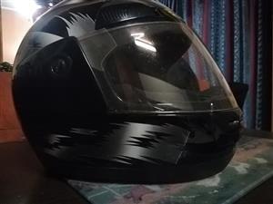 Black helmet for sale