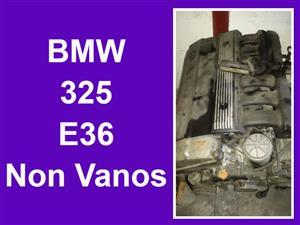 BMW E36 325 non vanos engine for sale.