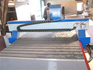 R-1325LK/55V EasyRoute 380V Lite 1300x2500mm PVC Clampable Vacuum CNC Router, 5.5kW High