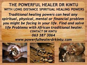 POWERFUL HEALER DR KINTU (WITH LONG DISTANCES SPIRITUAL