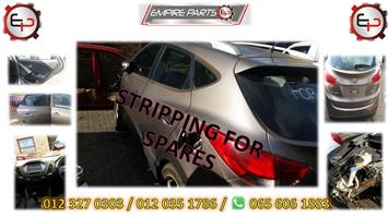 *STRIPPING FOR SPARES - HY070 HYUNDAI IX35 LIMITED 2011 (G4KE)*