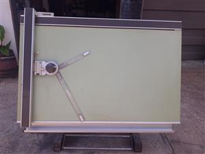 Architect drawing board, used for sale  Randfontein