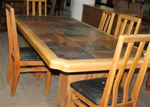 Dining room suite S031445A #Rosettenvillepawnshop