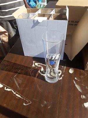 Castle light draught glass