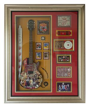 PRIVATE AUTOGRAPHED GUITAR COLLECTION UP FOR SALE!