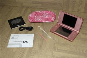Nintendo DS XL pink console